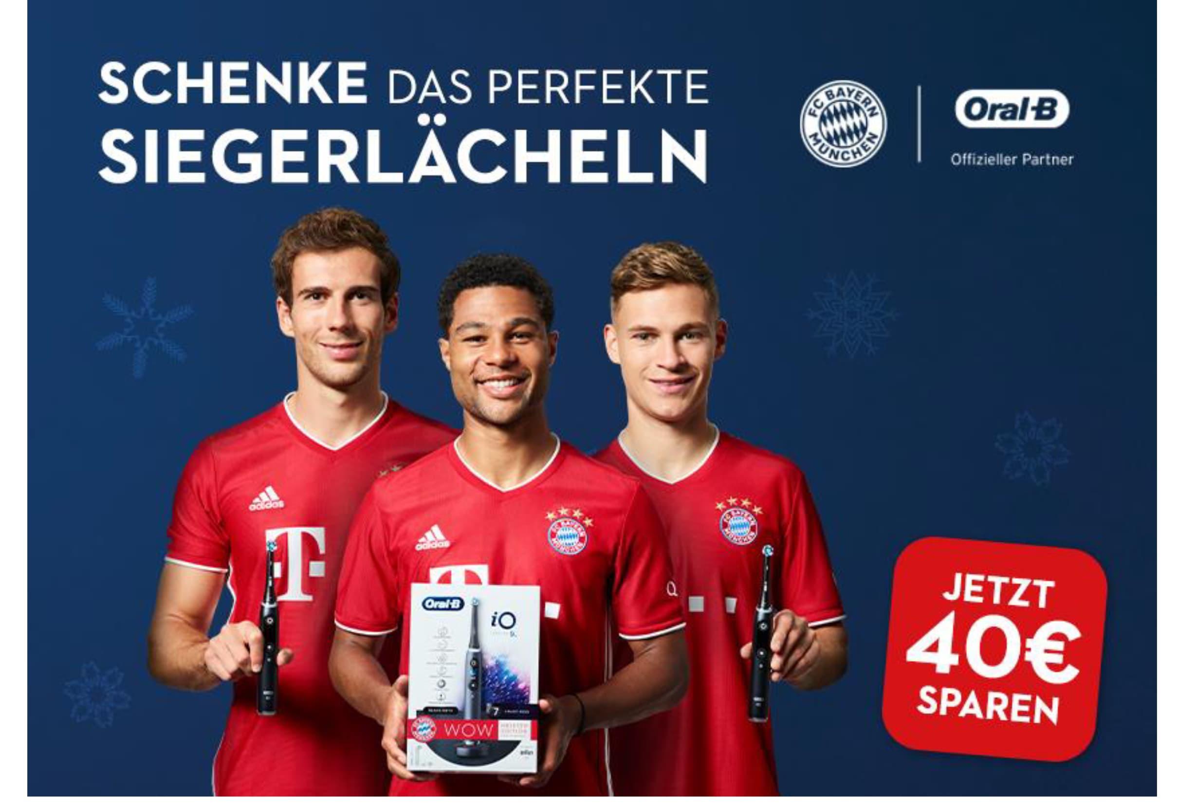 Oral-B WOW COUPON - FC Bayern Spieler