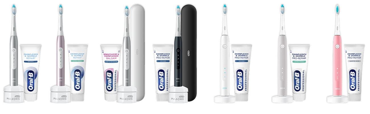 Gratis testen: Oral-B Zahnbürste und Zahnpasta