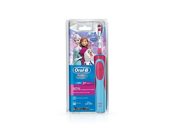 OralBStagesPowerKidsElectricToothbrushfeaturingDisneyFrozenCharacters1size3