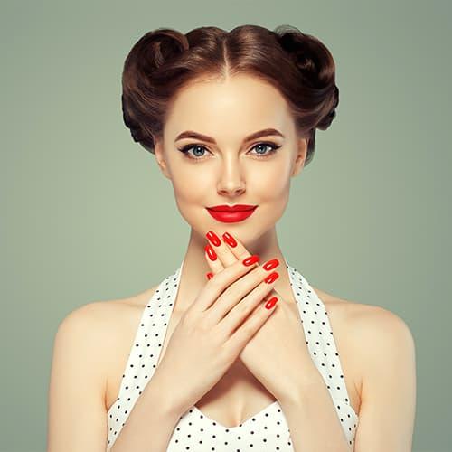 Festliche Frisuren für mehr Glamour