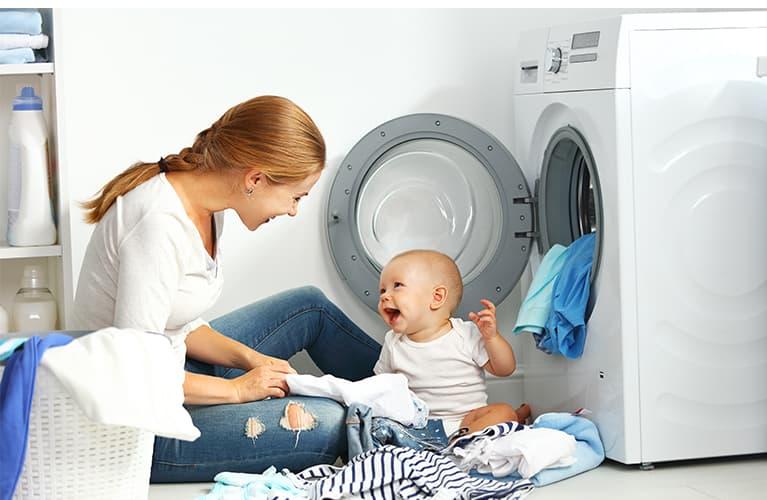 Babykleidung waschen: Das sollten Sie beachten