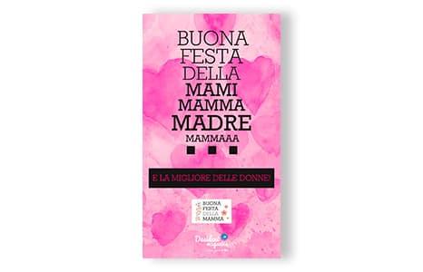 Biglietti d'auguri da inviare per la Festa della Mamma