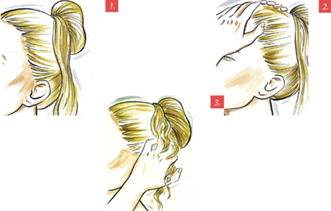Illustration des étapes 1 à 3