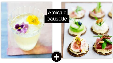 Amicale causette