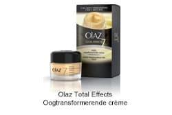 Foto door Olaz Total Effects Oogtransformerende crème.