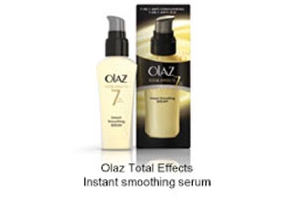 Foto door Olaz Total Effects Instant smoothing serum