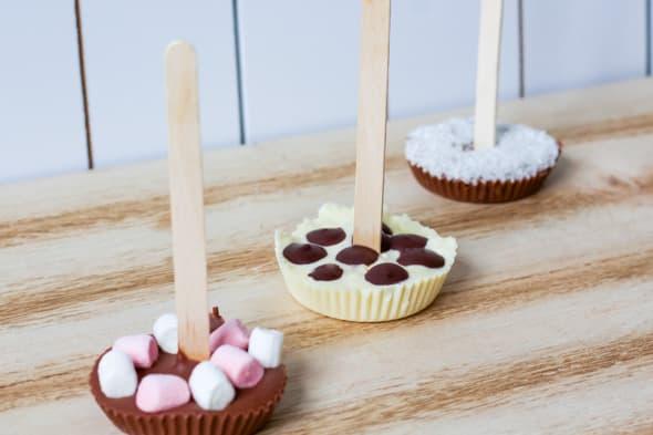 Chocolademelk-lepels