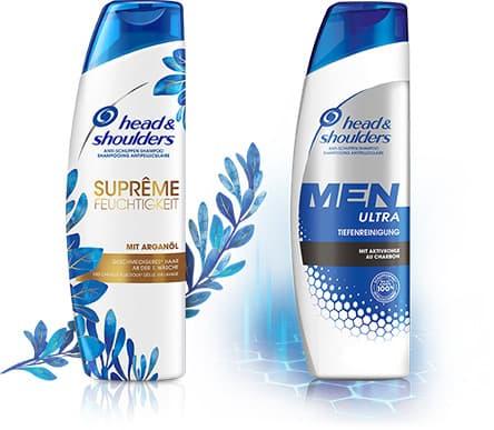 Head & Shoulders Produkte für die richtige Kopfhautpflege