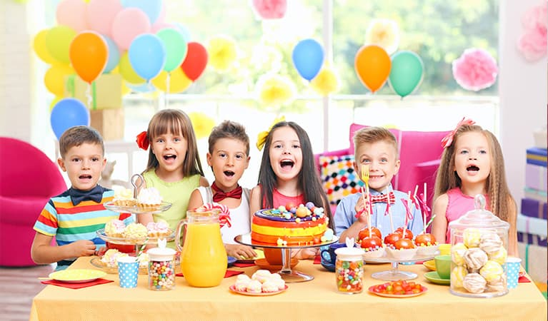 Partyspiele für Kinder