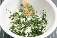 Cannelloni mit Spinat Feta Füllung