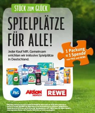 """""""Stück zum Glück"""": Spielplätze für alle!"""
