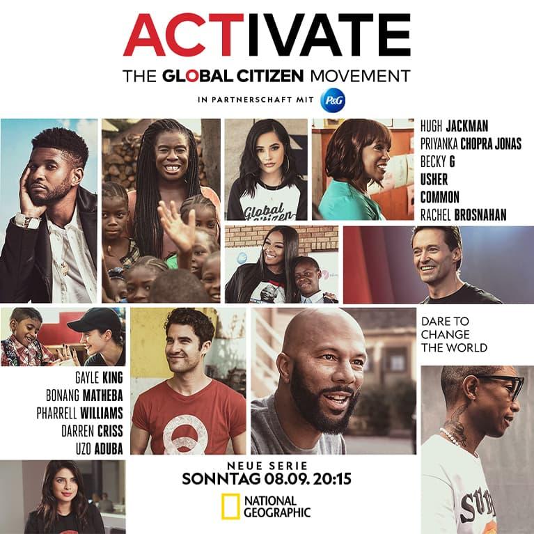 ACTIVATE: Die Global Citizen Bewegung