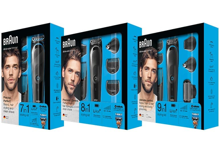 Braun Series5 Multigrooming-Kits