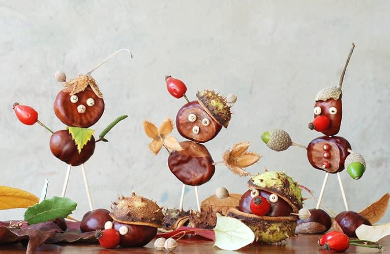 Herbstmännchen und -tierchen