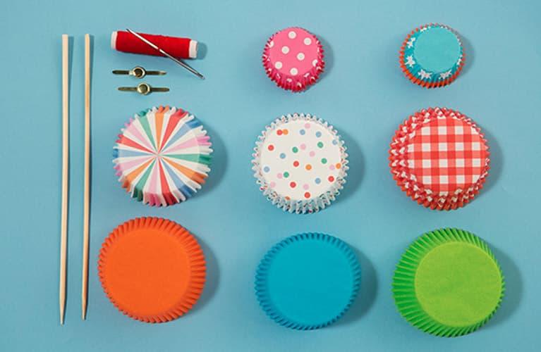 Bastelideen mit Cupcake-Förmchen