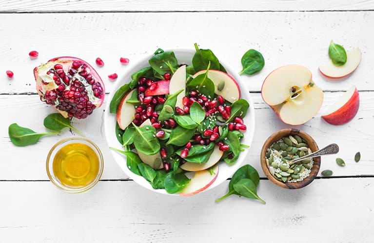 Abnehmen ab 50: die Ernährung