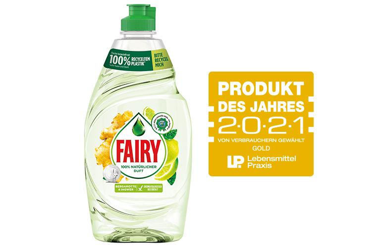 Fairy Naturals: Verbraucher wählen sie zum Produkt des Jahres 2021!
