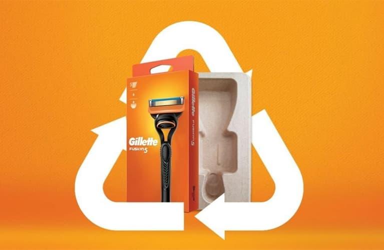 Gillette Nachhaltig mit neuem Design