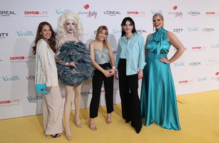 Gillette Venus unterstützt die DKMS LIFE im dritten Jahr