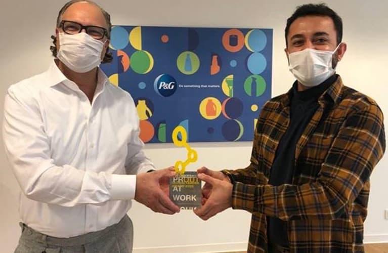 PRIDE Champion Auszeichnung für Procter & Gamble