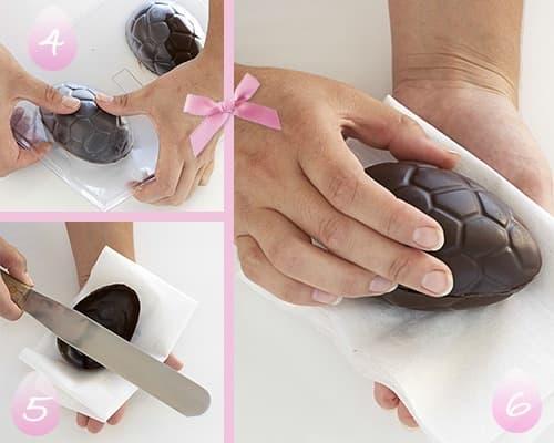 Schritt für Schritt: So stellen Sie Ihre eigenen Schokoladen-Ostereier her