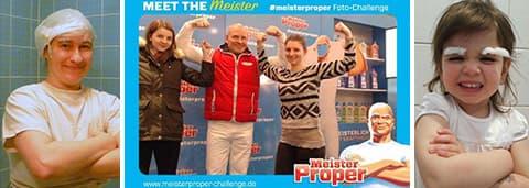 Die Meister Proper Foto-Challenge - Gewinner