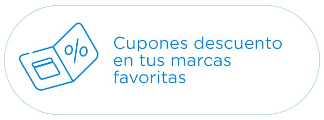 Cupones de descuento en tus marcas favoritas