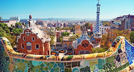 Barcelona y Madrid, dos de las muchas joyas de España