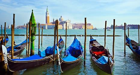 La romántica Venecia