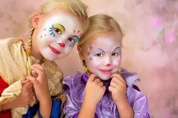 maquillaje clown