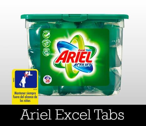Lava con Ariel Tablets tu ropa de viaje