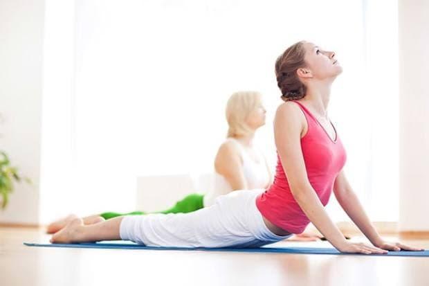 Exercice de yoga pou débutante