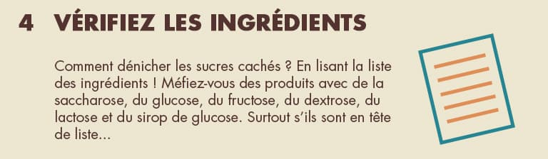 Vérifiez les ingrédients