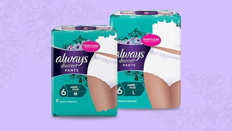 Always Discreet Pants Εσώρουχα μίας χρήσης