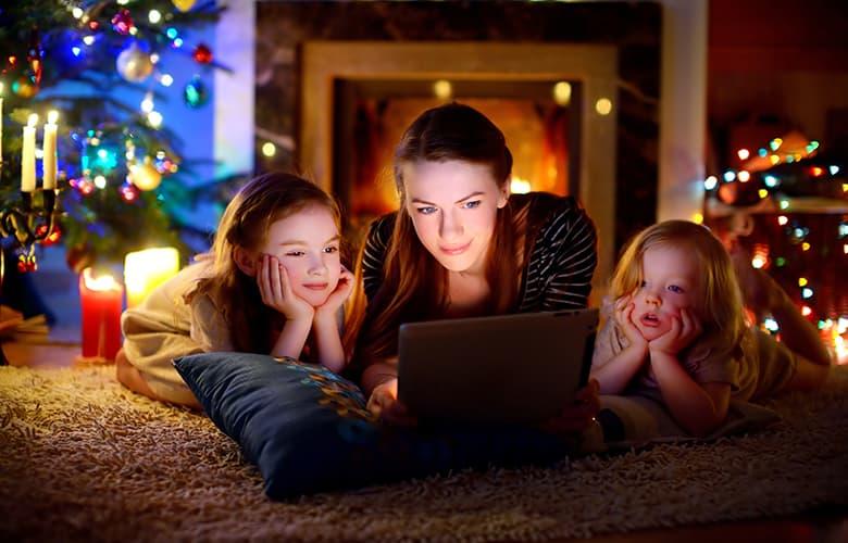 Διασκεδάζοντας με τα παιδιά μας στο σπίτι τις γιορτές