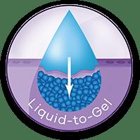 Liquid-to-Gel