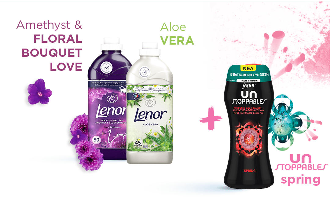 Amethyst & Floral Bouquet Love  Aloe Vera Unstoppables Spring