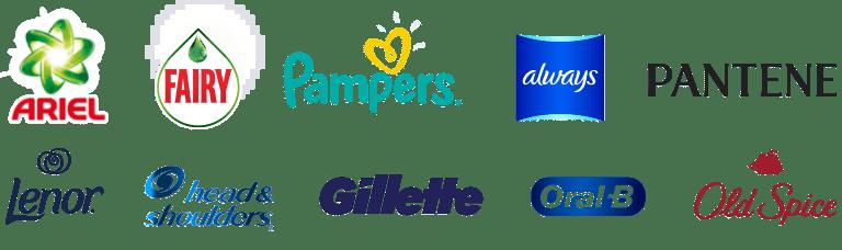 P&G logos