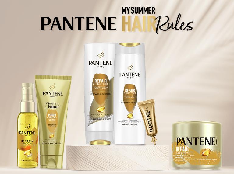 pantene my summer hair rules