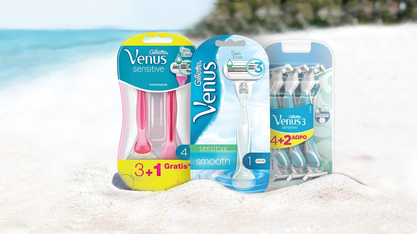 Η Venus Sensitive με Skin Elixir είναι αυτό που χρειάζεσαι