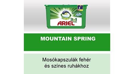 Ariel 3az1-ben PODS mosókapszula