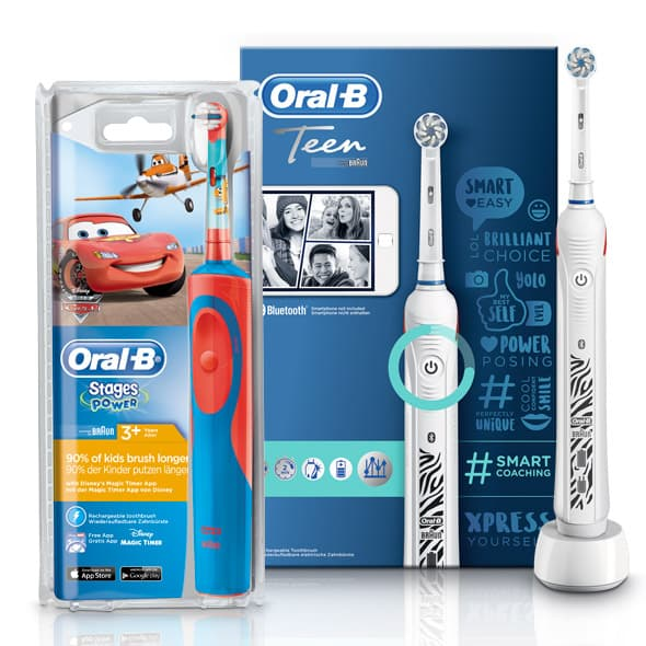 Oral-B Teen e Oral-B Stages Star Wars e Frozen
