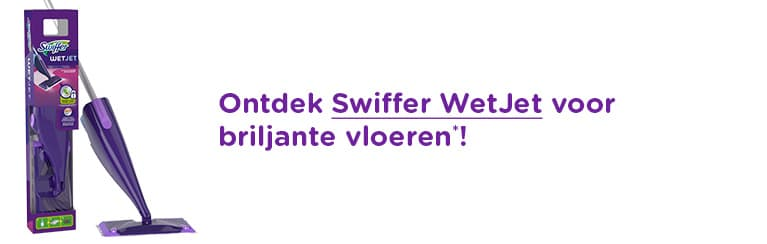 Ontdek Swiffer WetJet voor briljante vloeren!
