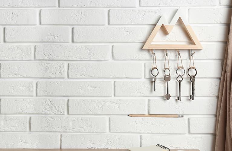 Uchwyt na klucze dekoracyjne