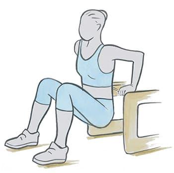 Tonificação integral dos tríceps