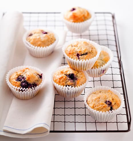 Muffins com chocolate ou frutos secos