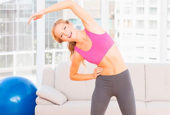Exercícios para cintura e ancas