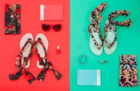 Conjugue as suas novas sandálias com os seus outros acessórios