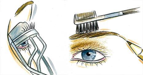 Maquilhagem Passo 3 y 4