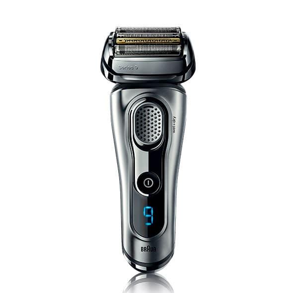 nova máquina de barbear Braun Series 9